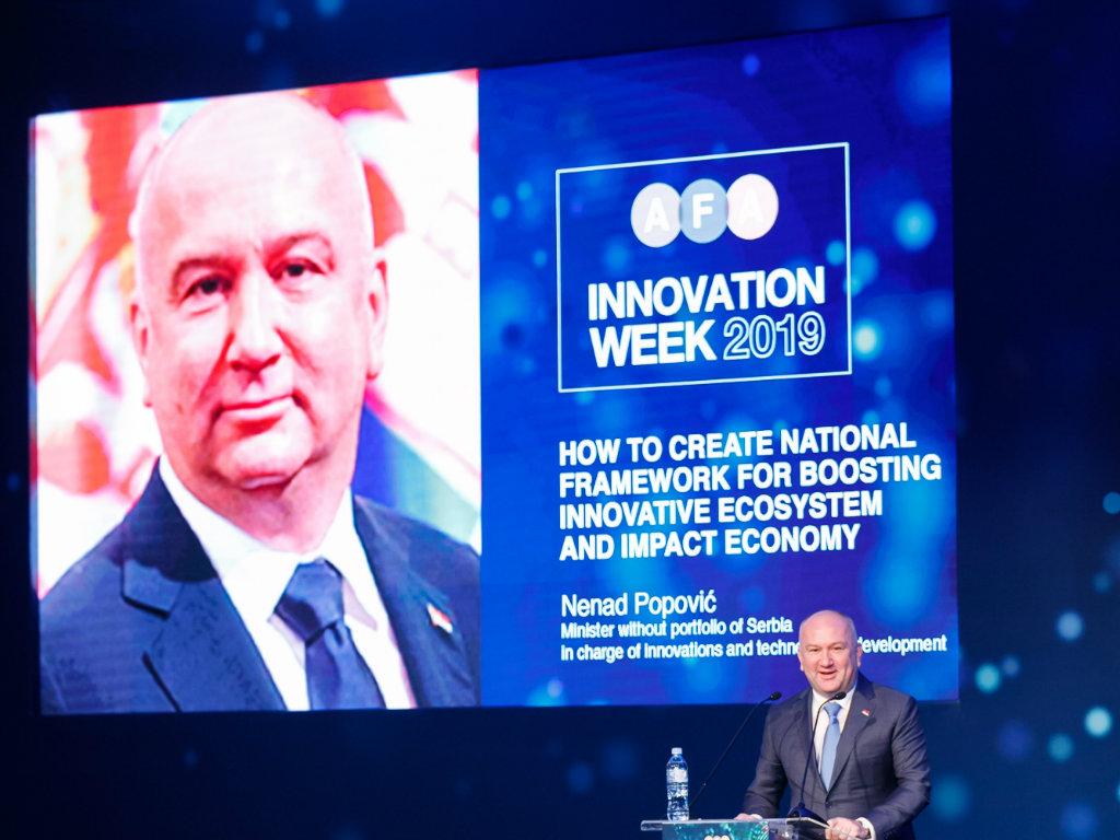 Završena druga AFA nedelja inovacija dodelom Godišnjih nagrada za inovacije i inicijative
