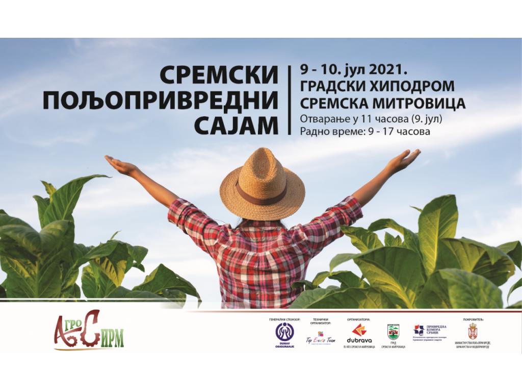 Počinje Agro Sirm 2021 - 10.000 m2 izložbenog prostora, novina prateći konferencijski sadržaji