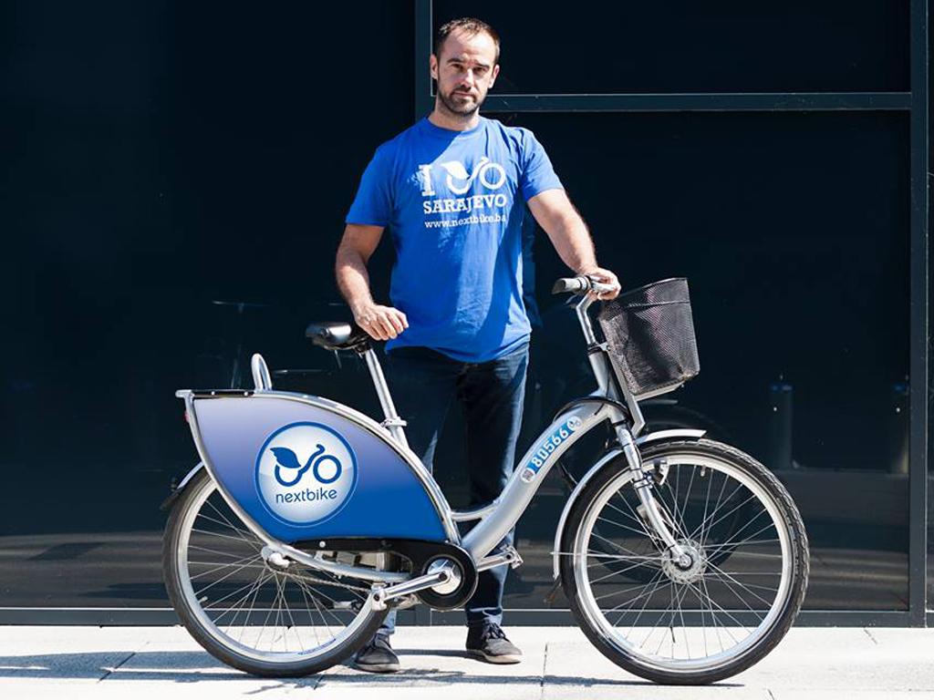 Raste popularnost iznajmljivanja javnih bicikala u Sarajevu - NextBike želi formirati 25 stanica