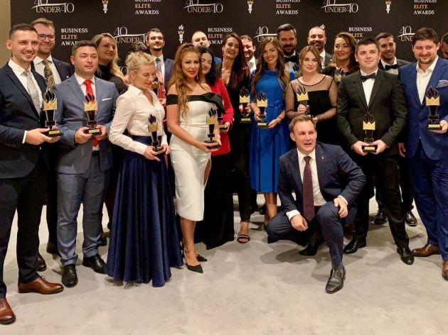 """Sa nedavne dodjele nagrada """"Business Elite's Awards '40 under 40'"""