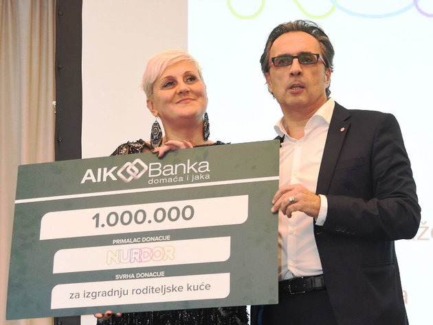 AIK Banka donirala milion dinara Nurdoru