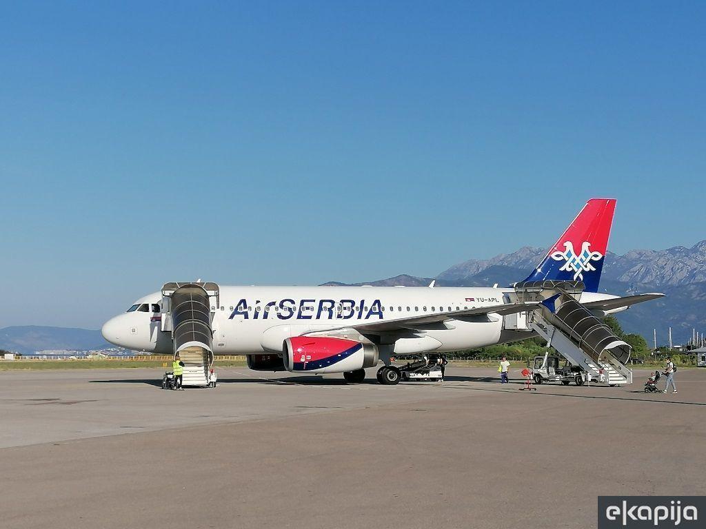 Turkish Airlines smanjuje, Air Serbia uvodi nove letove ka Crnoj Gori
