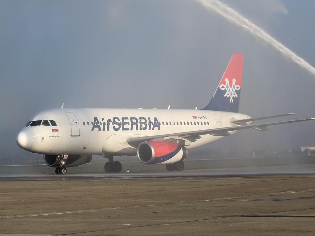 """""""Air Serbia"""" uvećala prihod za 44% u prvom kvartalu 2015."""