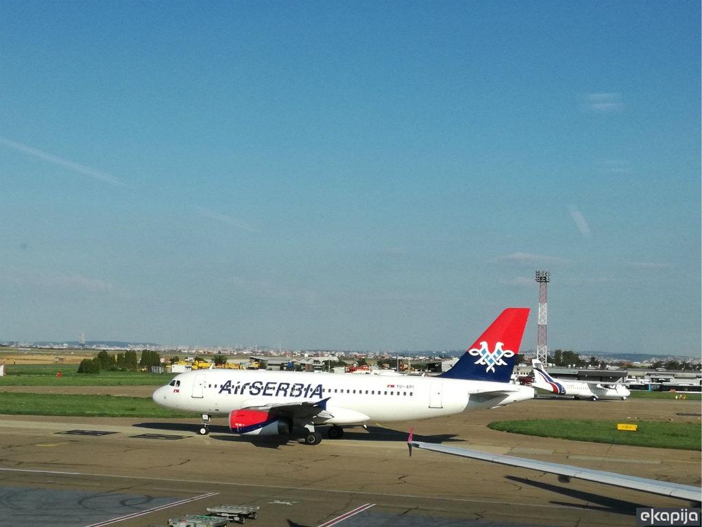 Air Serbia ponovo leti za Rim i Milano