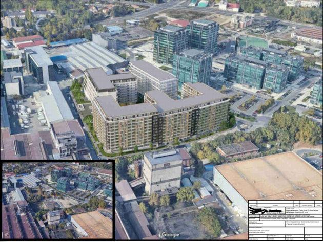Dem Bau des Airport Garden-Komplexes einen Schritt näher - Geschäfts- und Wohngebäude sollen auf 20 ha Land neben der Airport City errichtet werden