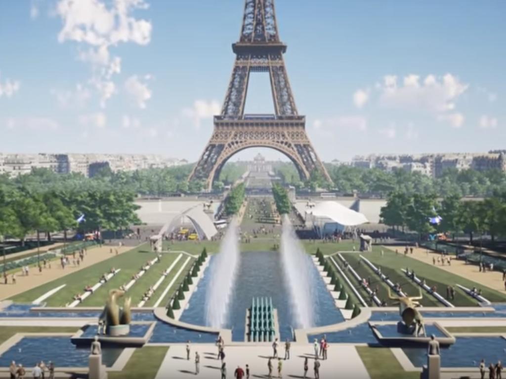 Pariz objavio pobjednički tim za redizajn okoline Ajfelove kule - Najveći 3D model ikada  (VIDEO)