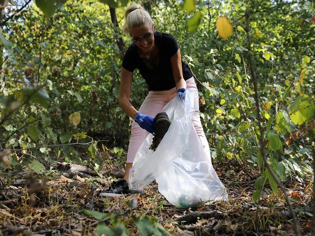 Američka privredna komora sa partnerima u akciji čišćenja Avale