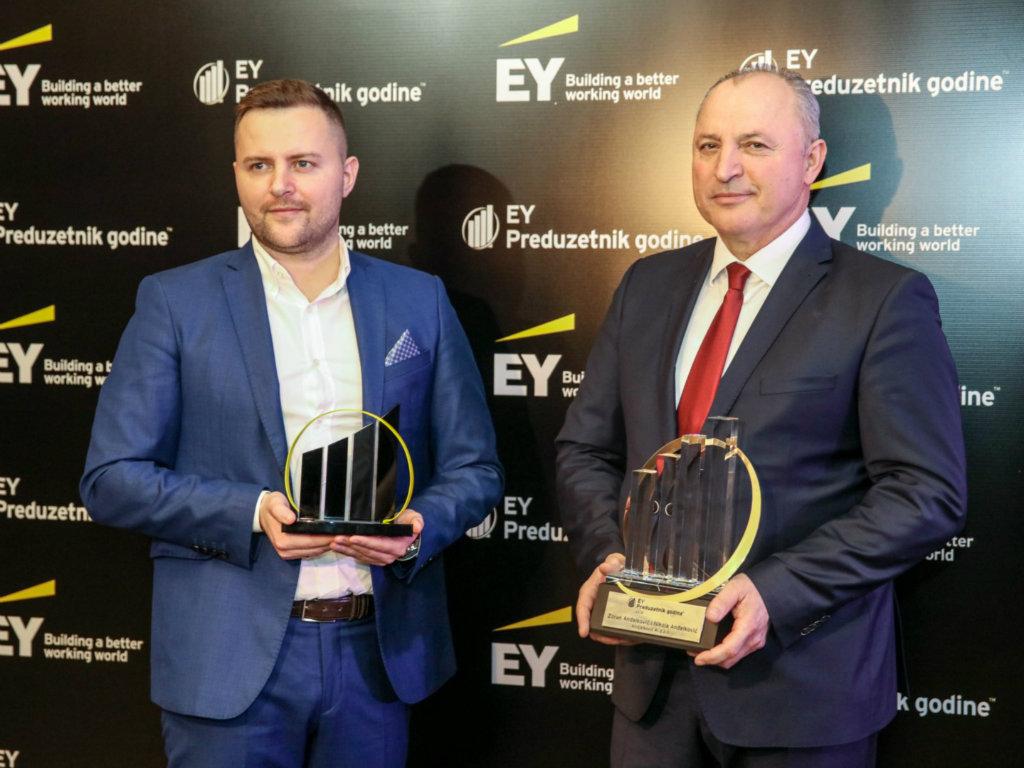 Zoran i Nikola Anđelković EY Preduzetnici 2019. godine u Srbiji
