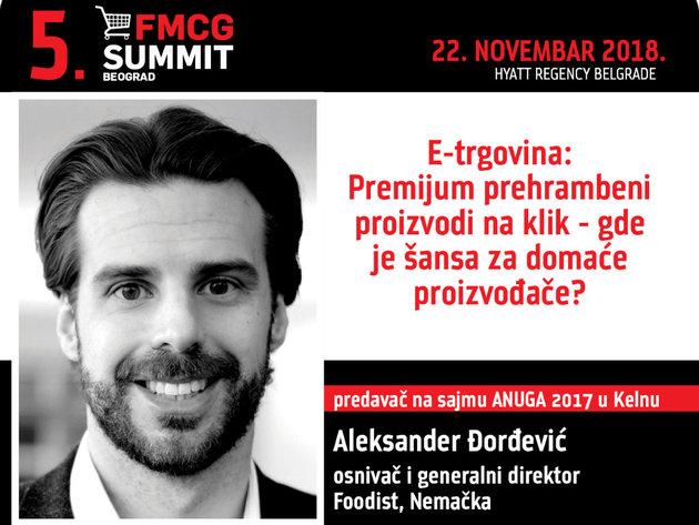 Aleksandar Đorđević, osnivač i CEO Foodista -  Nije tačno da veliki jedu male, već da brzi jedu spore