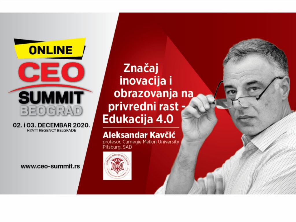 Aleksandar Kavčić, jedan od učesnika CEO Samita namerava da obezbedi besplatne udžbenike za sve osnovce u Srbiji