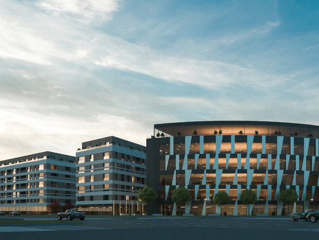 Residential-commercial complex of 90,000 m2 planned in New Belgrade