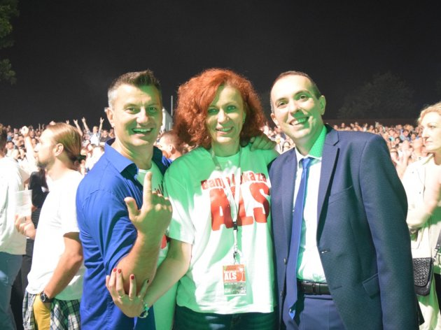 Sa humanitarnog koncerta u Banjaluci