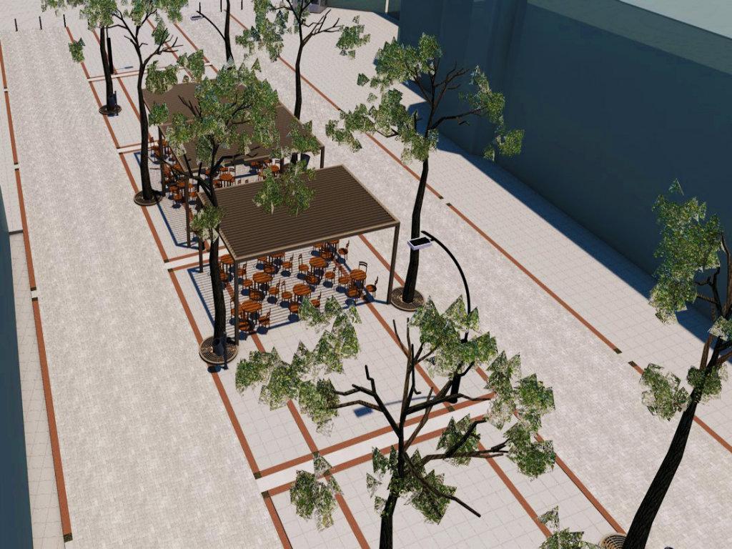 Grade se novi trg i glavna pešačka zona u Aleksincu - Vrednost radova 170,7 miliona dinara (FOTO)