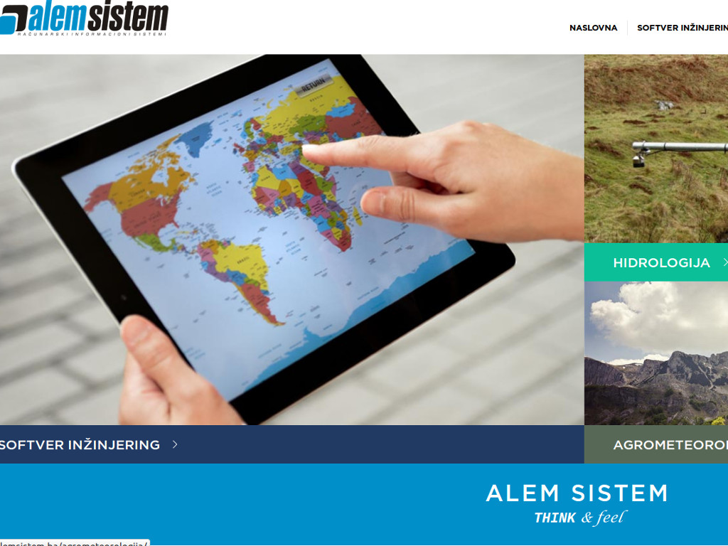 """Predstavljena nova web stranica sarajevske kompanije """"ALEM Sistem"""""""