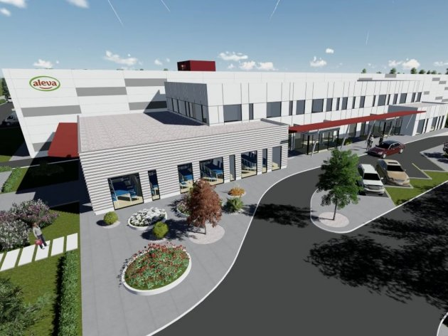 Future look of the new industrial complex in Novi Knezevac