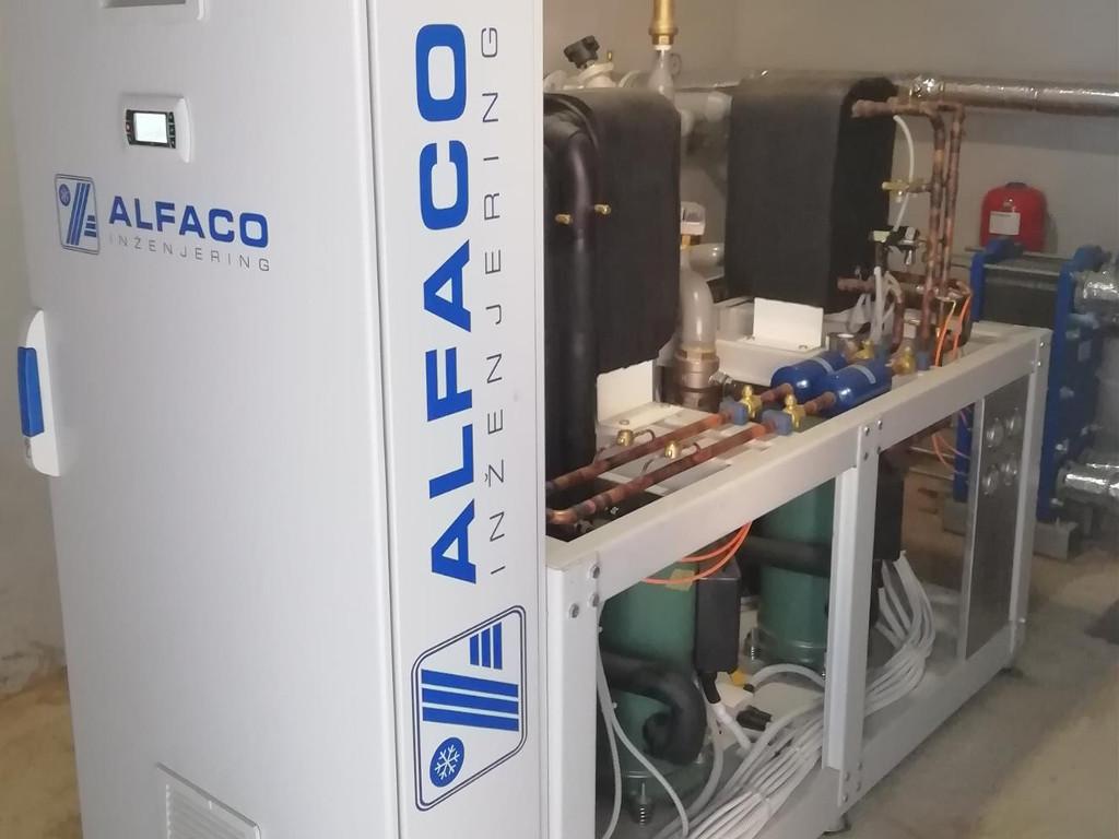 Alfaco Inženjering razvija inovativnu visokotemperaturnu toplotnu pumpu voda-voda