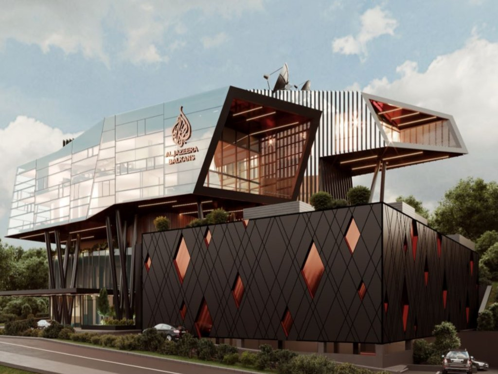 Uskoro kreće gradnja novog sjedišta AlJazeera Balkans - Otvaranje futurističke zgrade na Šipu predviđeno za kraj 2021. (FOTO)