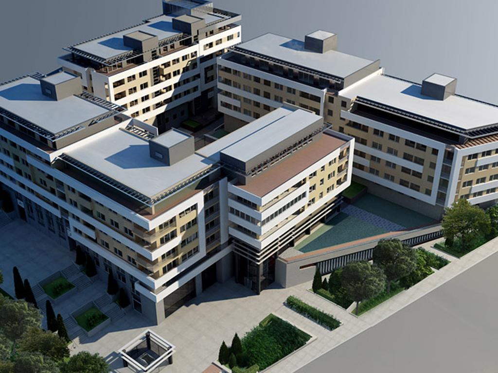 "Završena izgradnja stambeno-poslovnog kompleksa ""Alpha City"" na Zvezdari"