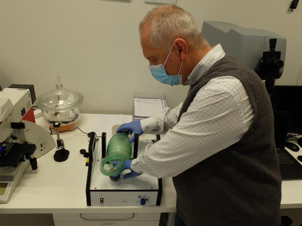 Alternativni respiratori iz Kragujevca za pacijente sa lakšom kliničkom slikom (FOTO)