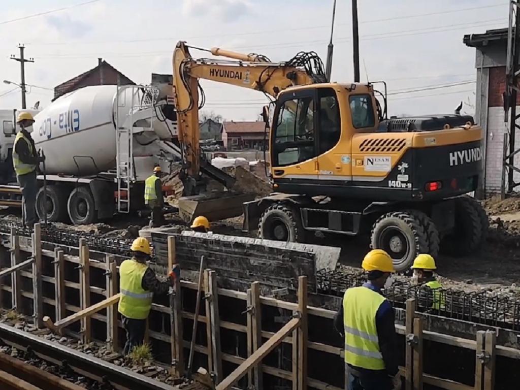 Stajalište Altina na brzoj pruzi Beograd-Budimpešta gradi se tokom vanrednog stanja (VIDEO)
