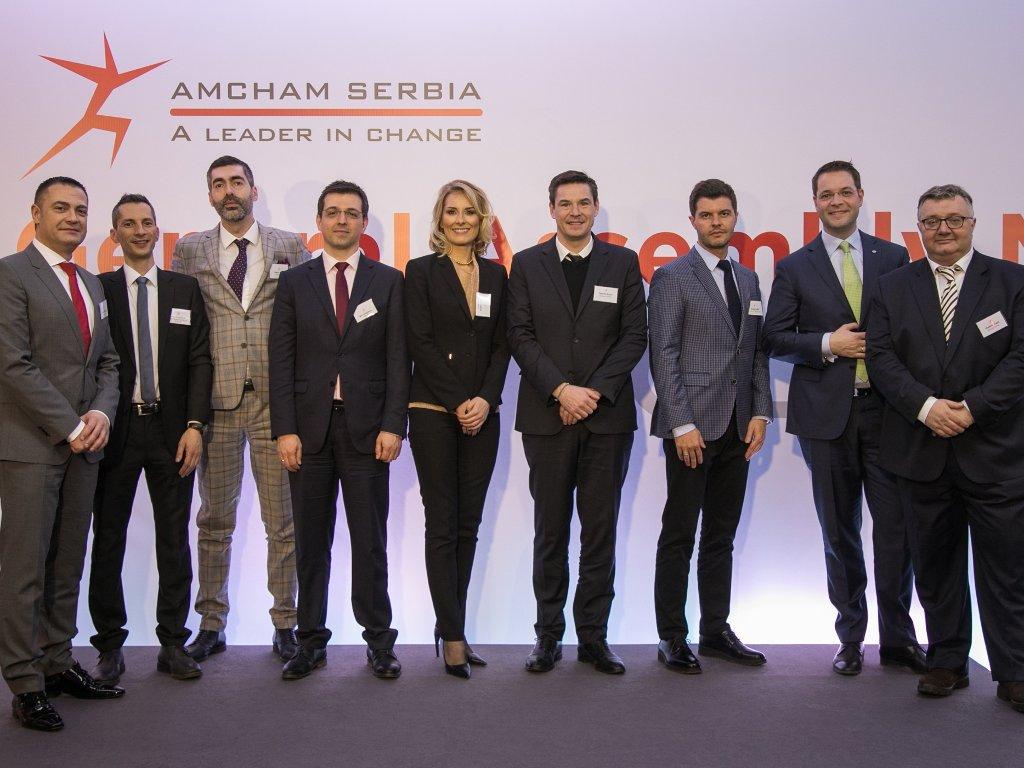 Izabrano novo rukovodstvo Američke privredne komore - Kosti Jovanoviću dodeljena AmCham Hero nagrada