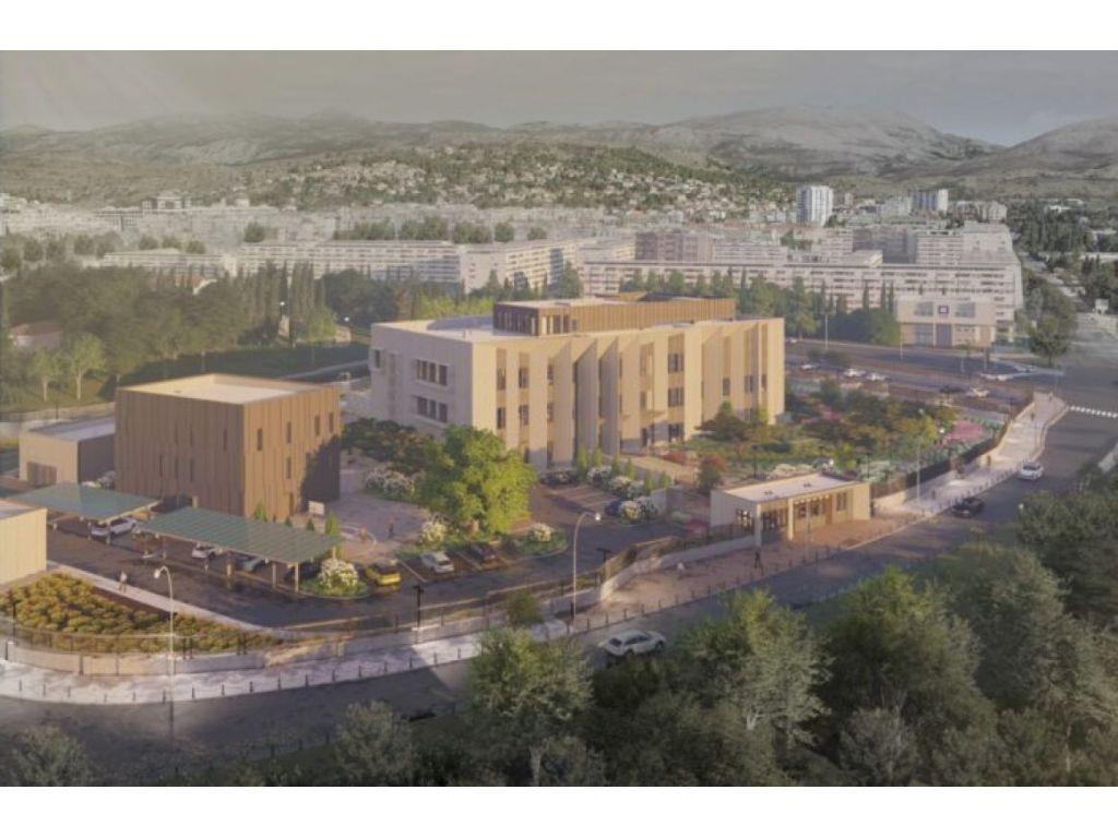 Projektovani izgled budućeg kampusa