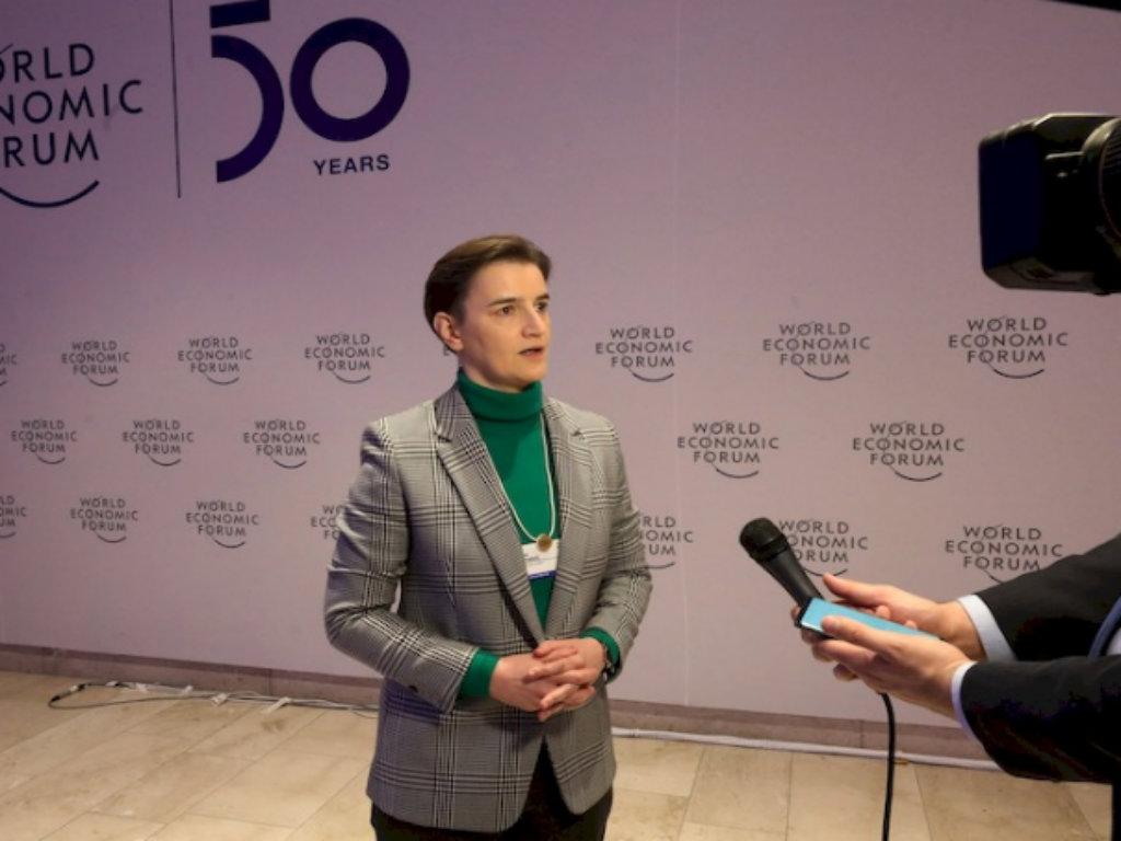 Brnabić u Davosu razgovarala s predstavnicima kompanije Philips o dolasku u Srbiju