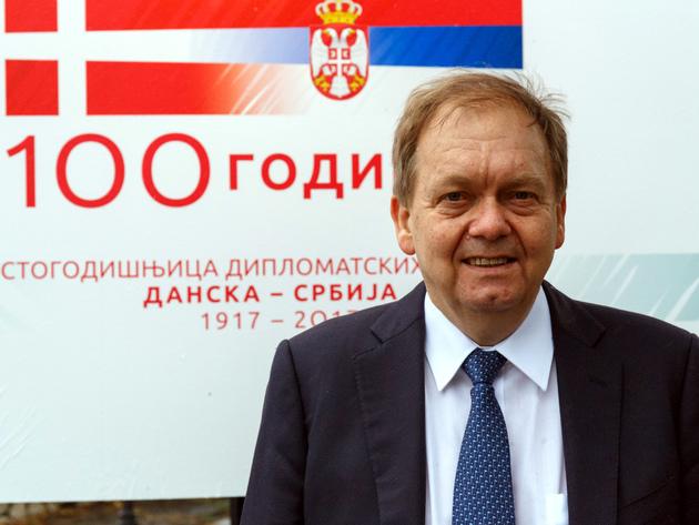 Anders Christian Hougaard, ambasador Danske u Srbiji - Nismo tako bogati da bismo išta bacili