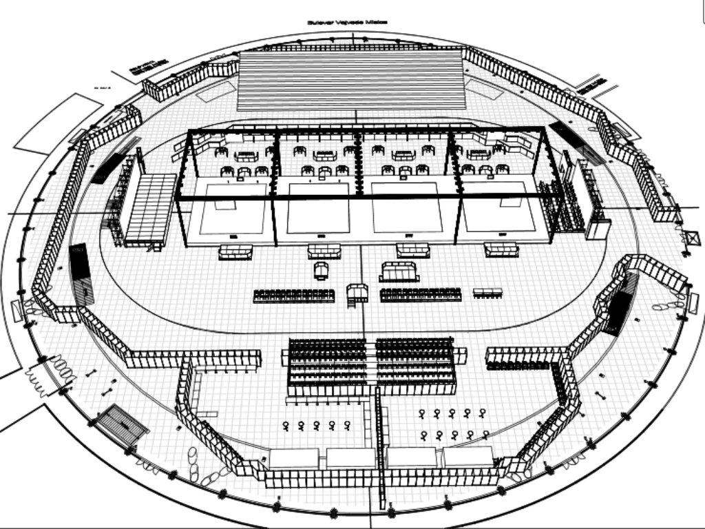 Beogradski sajam se sprema za svetsko prvenstvo u rvanju - Raspisan tender za opremanje hala