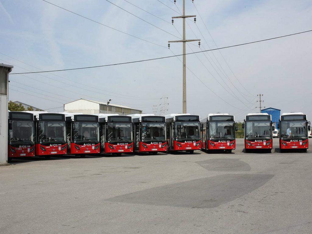 Kompanija Arriva Litas vratila u saobraćaj 25 novih autobusa