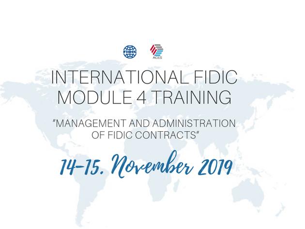 Internacionalna obuka o FIDIC ugovorima 14. i 15. novembra u Beogradu