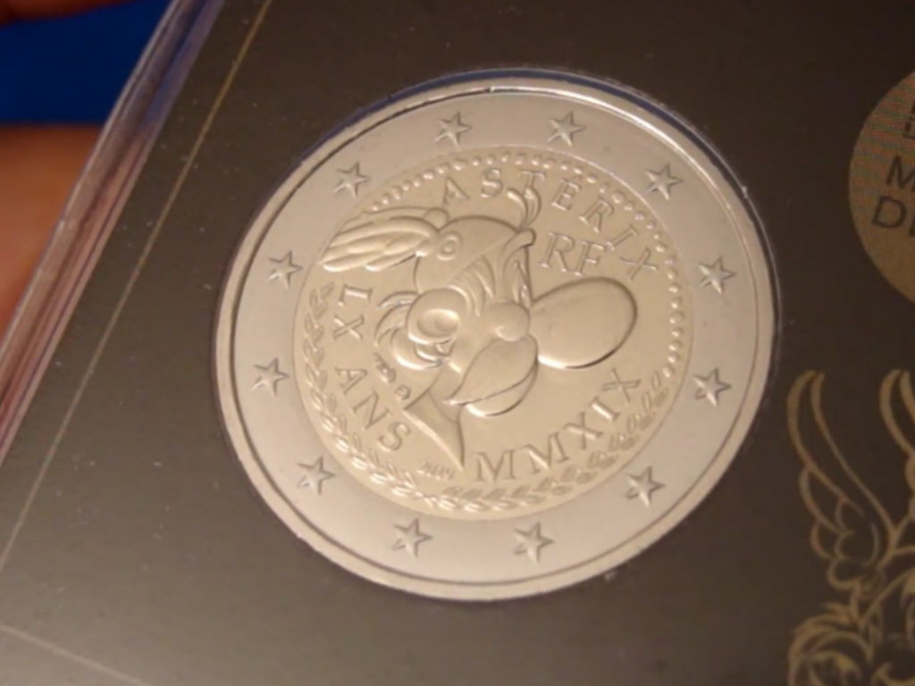 France issues EUR 2 coins featuring the image of Asterix