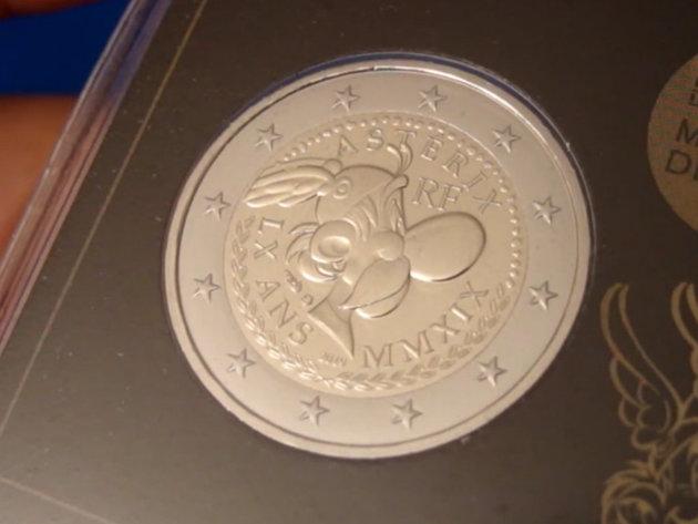 Frankreich gibt 2-Euro-Münzen mit dem Bild von Asterix aus