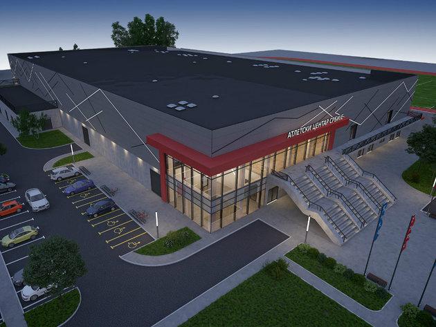 Evo kako će izgledati i koje će sadržaje imati Atletski centar Srbije u Ćupriji (FOTO)