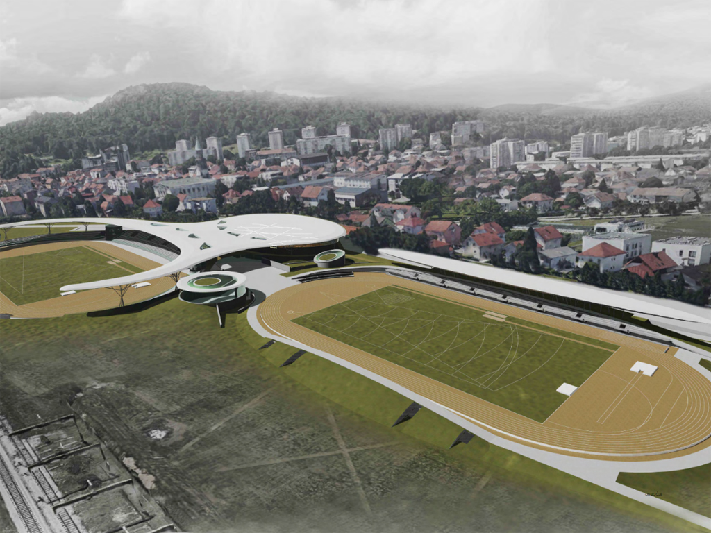 Arhitekte iz Srbije osvojile prvo mesto na konkursu za Atletski centar Ljubljana (FOTO)
