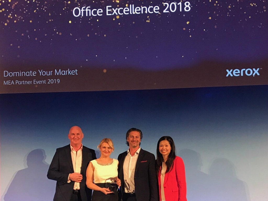 Atom partner dobio nagradu Xerox Office Excellence 2018