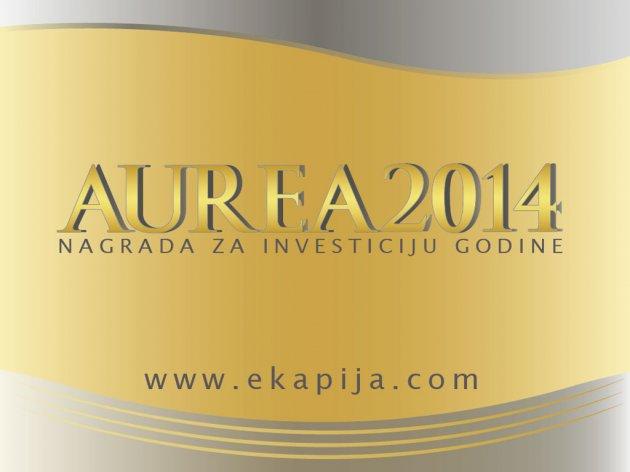 """""""eKapija"""" belohnt Investition des Jahres in Serbien - Preisverleihung """"Aurea 2014"""" am 26. März in Belgrad"""