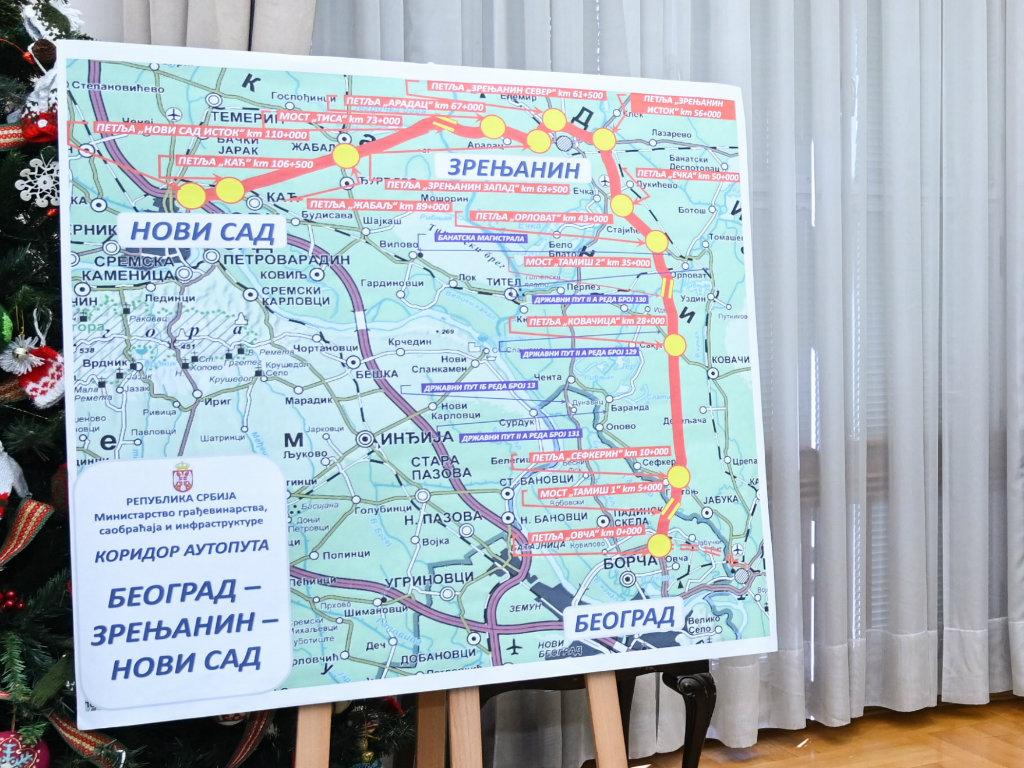 Auto put Beograd-Zrenjanin-Novi Sad