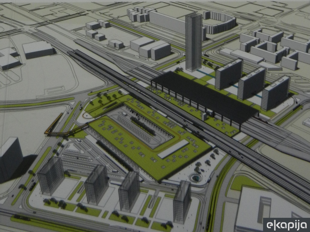Construction of bus and railway station in New Belgrade - This is what can be built in Block 42