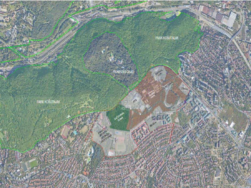 Avala Studios: Šuma u Košutnjaku ostaje netaknuta
