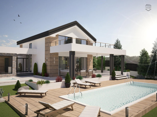 """Ein Luxusvillenkomplex mit Wellnesscenter wird in der Nähe von Belgrad gebaut - """"Avalske doline"""" soll 2021 fertiggestellt werden"""