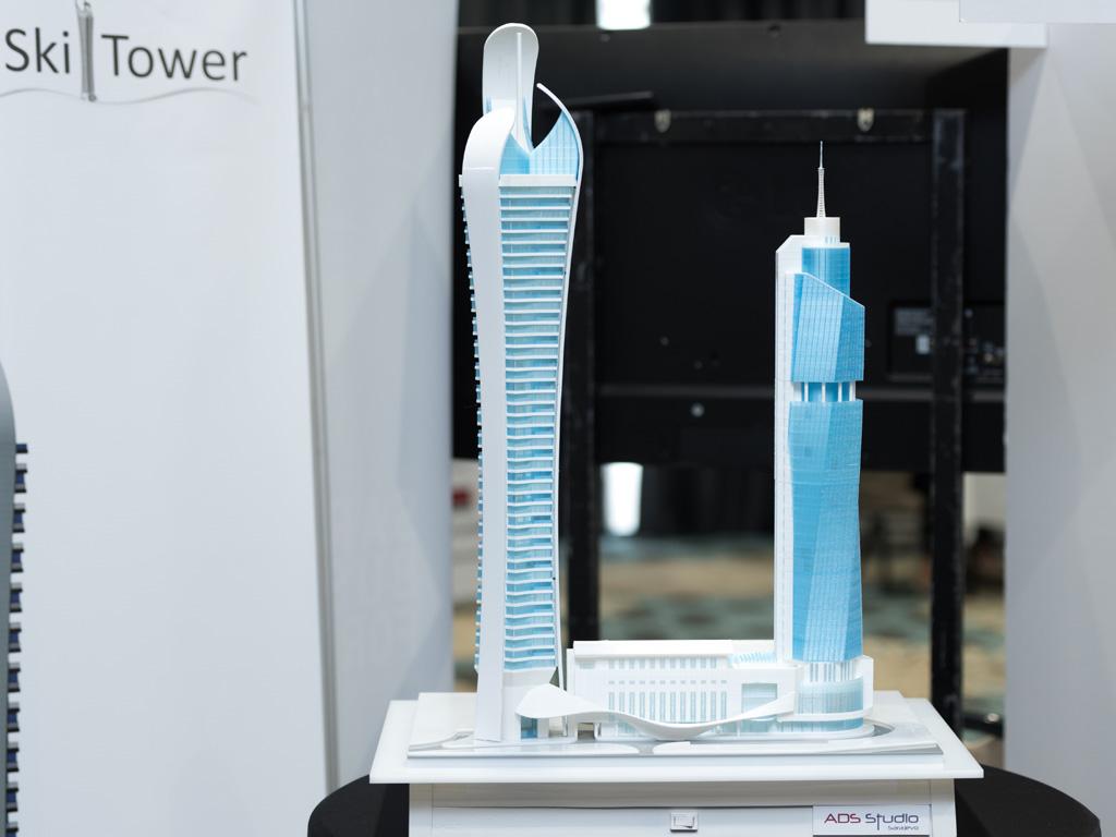 Uskoro kreće gradnja Avaz Ski Tower vrijednog 100 mil EUR - U tornju predviđen kancelarijski prostor, hotel, stanovi