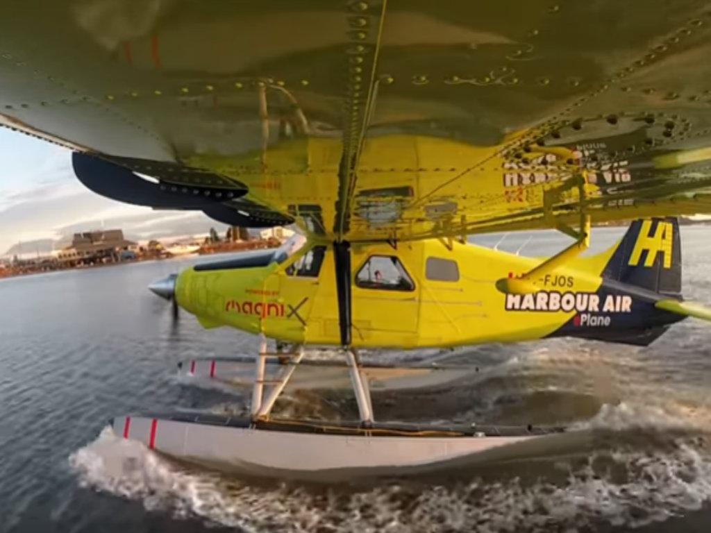 Probni let prvog električnog putničkog aviona (VIDEO)