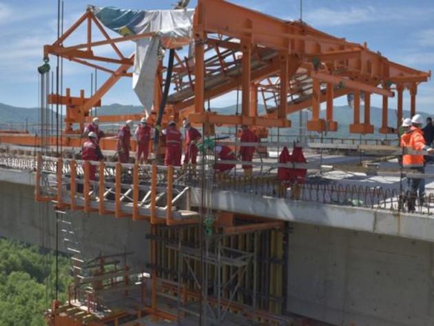 BiH dobila najviši izgrađeni objekat na Koridoru 5C - Spojen vijadukt Babina rijeka (FOTO)