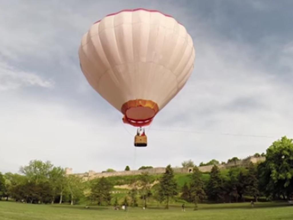 Prvi let turističkim balonom na Trebeviću 18. juna