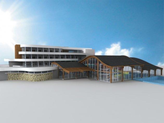 Uskoro završetak prve faze izgradnje kompleksa Terme Ozren - Početak rada tokom ljetnje sezone