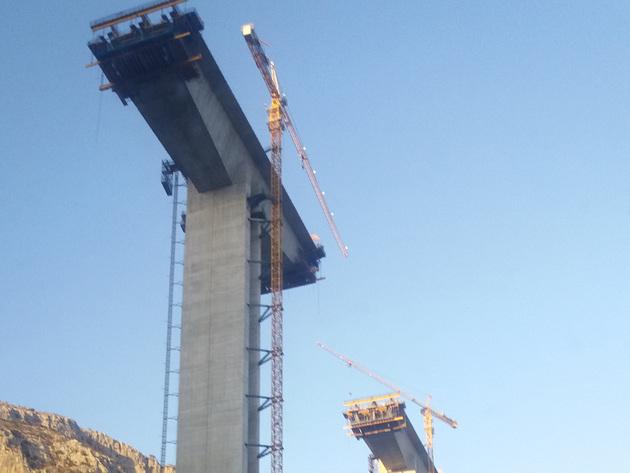 Napreduje izgradnja autoputa Bar-Boljare kroz Crnu Goru