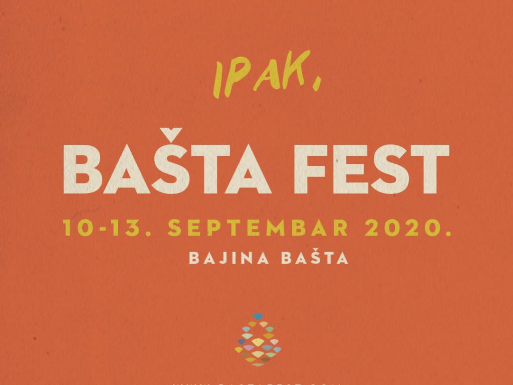 Fest u Bajinoj Bašti od 10. do 13. septembra