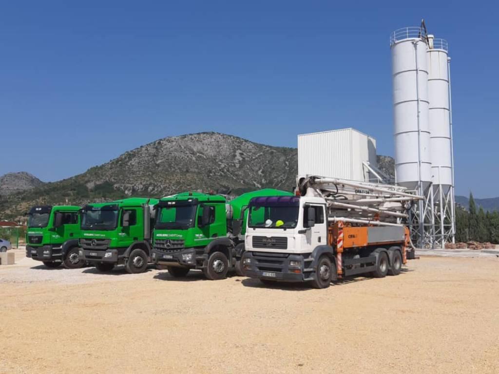 """Otvorena nova betonara HeidelbergCementa u Mostaru - Počele prve isporuke """"sivog zlata"""""""