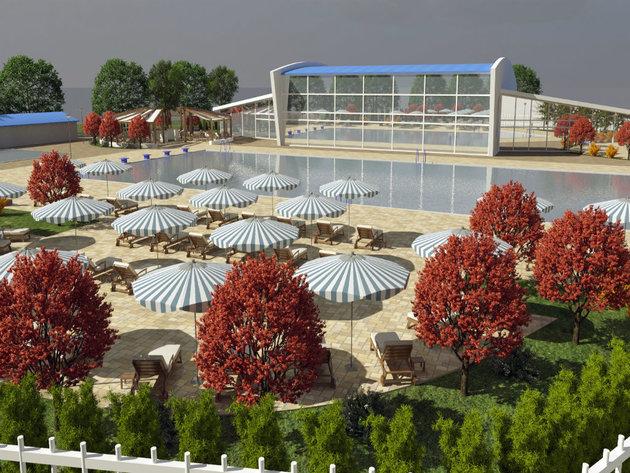 Future look of Gornji Milanovac pool